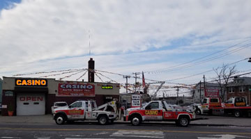 Casino towing trucks image